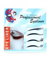 Oog stickers eyeliner 4 stuks