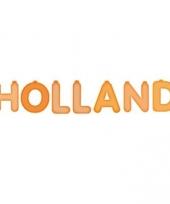 Opblaas holland letters
