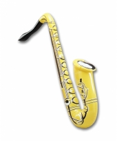 Opblaas saxofoon 75 cm