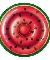 Opblaas watermeloen schijf 187 cm kinderen en volwassenen
