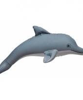 Opblaasbare grijze dolfijn 51 cm