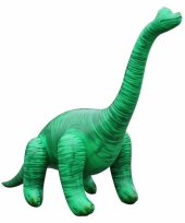 Opblaasbare groene brachiosaurus 71 cm