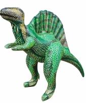 Opblaasbare groene spinosaurus 76 cm