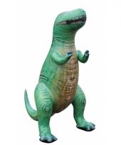 Opblaasbare groene t rex 152 cm