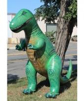 Opblaasbare groene t rex 300 cm