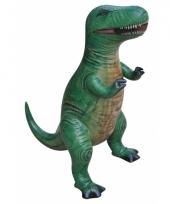 Opblaasbare groene t rex 41 cm