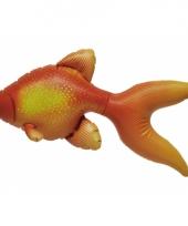 Opblaasbare oranje goudvis 51 cm