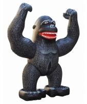 Opblaasbare zwarte gorilla 243 cm