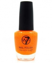 Orange dazzle glitter nagellak 15 ml