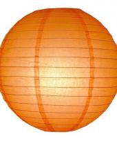 Oranje bol lampionnen 25 cm