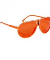 Oranje bril trendy model