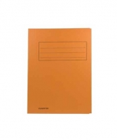 Oranje dossiermappen voor a4