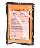 Oranje kleurpoeder 100 gram