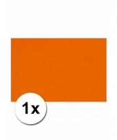 Oranje knutsel karton a4