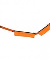 Oranje reis heuptas met 2 vakjes 80 107 cm