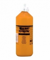 Oranje schoolverf in tube 500 ml