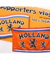 Oranje supportersvlag 100 x 70 cm