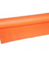 Oranje tafelkleed 10 meter