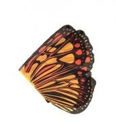 Oranje vlinder vleugels voor kids