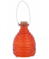 Oranje wespenpot vanger 14 cm