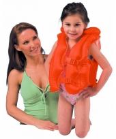 Oranje zwemvest 3 6 jaar