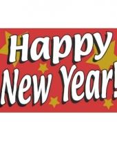 Oud en nieuw vlag happy new year