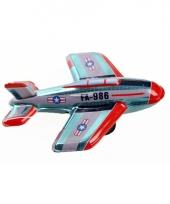 Oud speelgoed vliegtuigje fa 986 11 cm