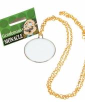 Ouderwetse bril monocle