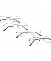Ovalen leesbril 2 50
