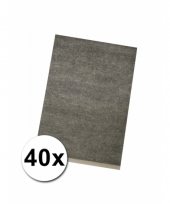 Overtrek papier a 4 40 stuks