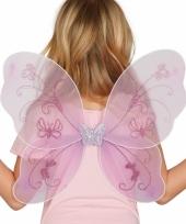 Paarse verkleed vleugels voor meisjes