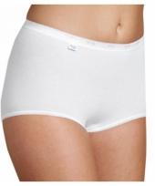 Pakket sloggi ondergoed voor dames wit