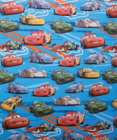 Pakpapier cars blauw