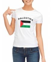 Palestijnse vlaggen t-shirt voor dames