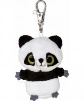 Panda sleutelhanger 7 5 cm
