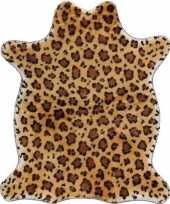 Panter print dierenvelletje speelkleed speelgoed kleed 90 cm