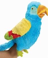Papegaaien handpop 23 cm