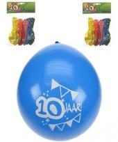 Party ballonnen 10 jaar