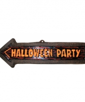 Party bord halloween pijl