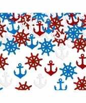 Party confetti schepen thema feestartikelen 14 gram
