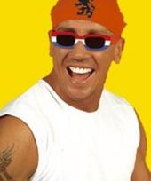 Party zonnebril holland rechthoek