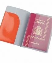 Paspoorthouder rood 13 cm