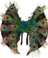Pauwenveren vleugeltjes