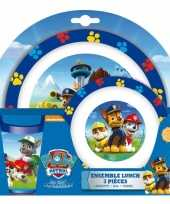 Paw patrol lunch set voor kids