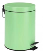 Pedaal vuilnisbak groen rvs 5l