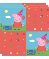 Peppa big servetten 33 x 33 cm