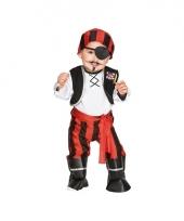 Peuter carnavalskleding piraat