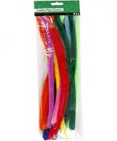 Pijpenragers kleuren 30 cm 25 st