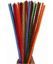 Pijpenragers kleuren 30 cm 30 st
