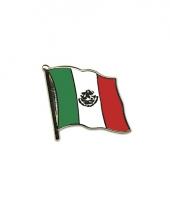 Pin speldjes van mexico